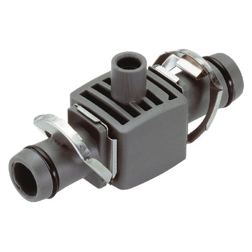 Gardena Micro-Drip-System T-Stück für Sprühdüsen, 13mm (1/2 Zoll): Rohrverbindung für definierte Fixierung der Sprühdüsen im Verlegerohr (8331-20)