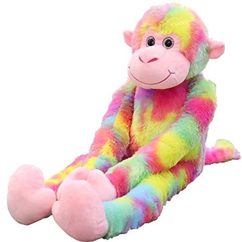 Navidad,Halloween,Cartoon Long Arm Monkey Hanging Monkey Lying Monkey Orangutan Doll Plush Toy Little Monkey Doll Give Child Birthday Gifts 1 Pc