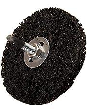 BGS 3978 | Muela abrasiva | negro | Ø 100 mm | agujero de sujeción 16 mm