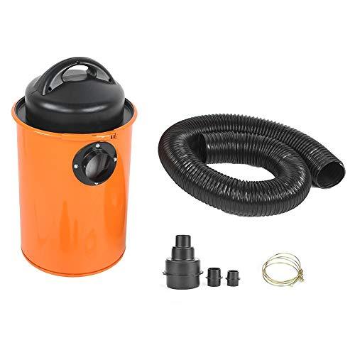 Handige industriële stofzuiger 1200 W aszuiger met trekker 50 l, draagbare stofzuiger voor werkplaats, 230 V