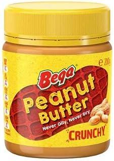 Bega Peanut Butter Crunchy 200gm