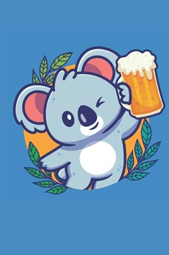 Party Koala mit Bier I Fun