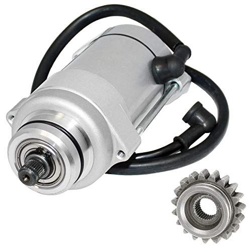 Caltric Starter Starting Motor W/Gear Compatible With Yamaha Virago 920 Xv920 1981 1982 1983