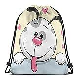 VFBGF Bolsas con cordón Bolsas y cestas de compras Bolsas de compras reutilizables Bolsas de gimnasia Bolsas deportivas Mochilas casuales Sakura Branches Seamless Pattern Personalized Drawstring Backp