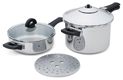 Kuhn Rikon Duramatic Pressure Cooker Set 30324