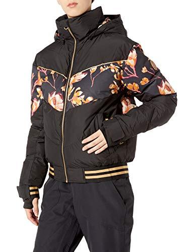 Roxy Snow Women's Torah Bright Summit Jacket, True Black Magnolia, M