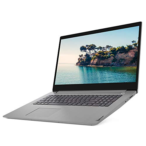 Lenovo IdeaPad 3 17.3 Inch HD+ Laptop - (Intel Pentium Gold, 4 GB RAM, 1 TB HDD, Windows 10 S Mode) - Platinum Grey