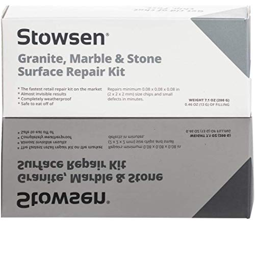 Granite, Marble & Stone Repair Kit - Fix Chips & Defects in Minutes |...