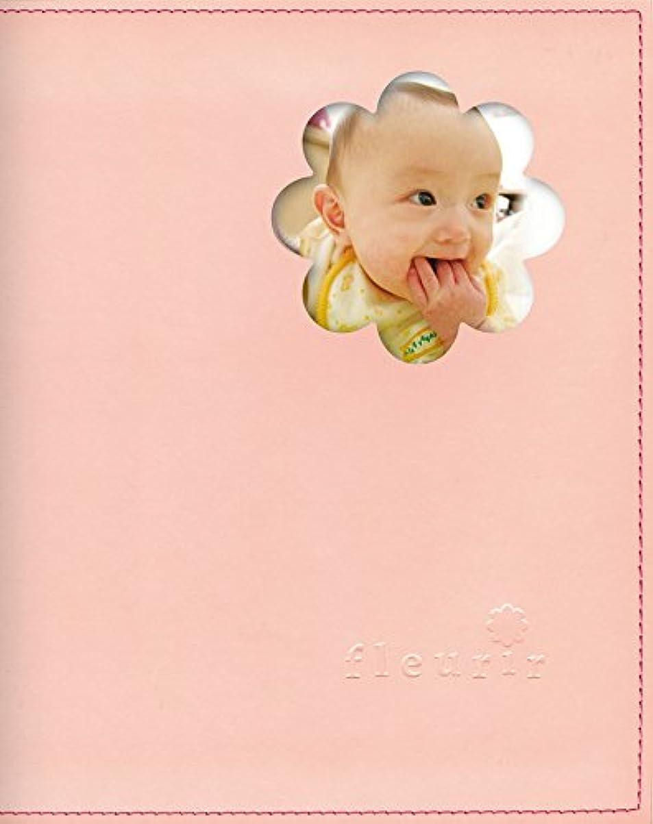 バケットことわざガイドライン育児日記 ダイアリー うぶごえ アルバム フルリール 【妊娠~1才まで】 全部セット (ピンク)