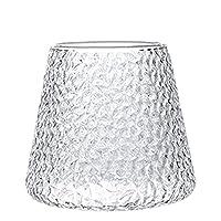 ヴィンテージマウントフジビアグラス、ウイスキーカクテル透明クリスタルウォーターグラス、コーヒーカップ、ミルクグラス、ジュースグラス、朝食用グラス (Size : Small)