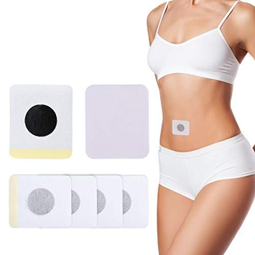 OUTERDO 40 Pcs Weight Loss Sticker Slimming Patch Magnetic Navel Sticker Slimming detox Patches Fat Burning Paste Quick Slimming