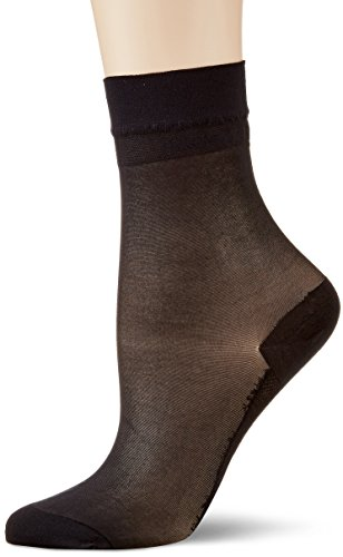 KUNERT Damen Cotton Sole Socken, 20 DEN, Blau (Marine 0880), 39/42
