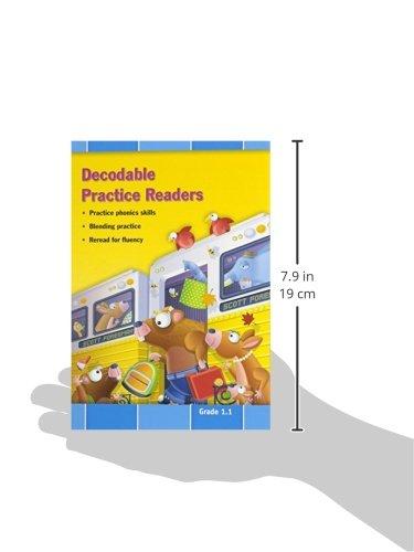 Decodable Practice Readers, Units R-1, Grade 1.1