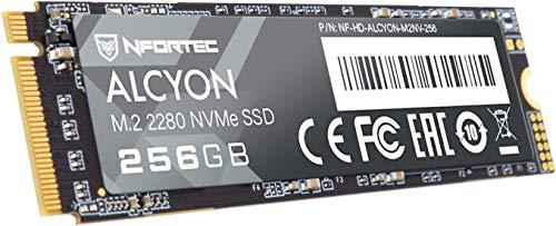 Nfortec Alcyon M.2 SSD 256GB NVMe,Disco Duro Estado sólido Interno con Interfaz...