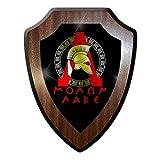 Copytec ????? ???? Molon Labe Komm y HOL sparter Espartano Casco Batalla Soldado Guerrero Militar Emblema Escudo Placa # 19825