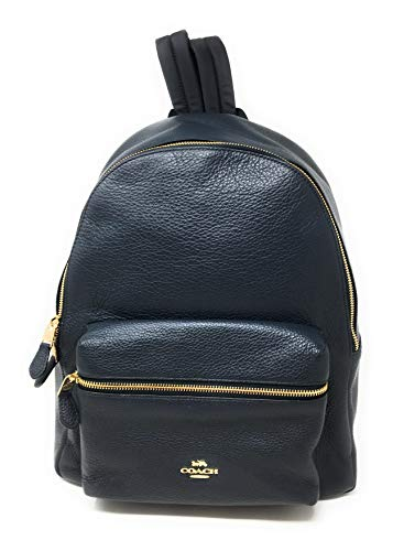 COACH CHARLIE BACKPACK, F29004, MIDNIGHT/LIGHT GOLD