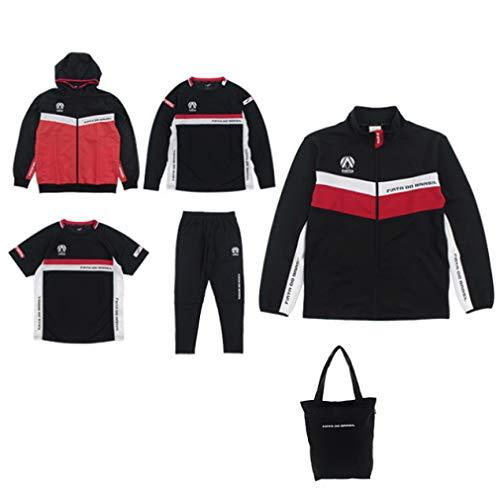 [フィンタ] メンズ 福袋 (半袖/長袖プラシャツ+ジャケット+スリムパンツ+ウィンドジャケット+トートバッグ+シークレット) M