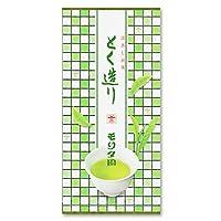 お茶のモリタ園 深蒸し茶 とく造り(とくづくり)/茶葉商品/荒茶仕上/100g袋入り