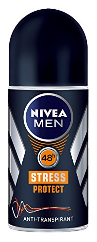 Nivea Men Stress Protect Deo Roll-on, Antitranspirant, 3er Pack (3 x 50 ml)