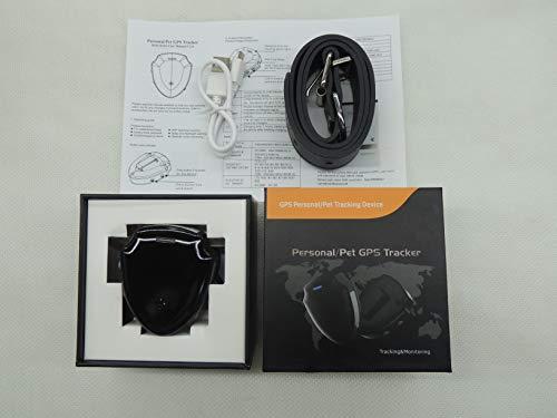 PATPET Rastreador Tractive GPS para Perros y Gatos,El Collar GPS para Perros más pequeño