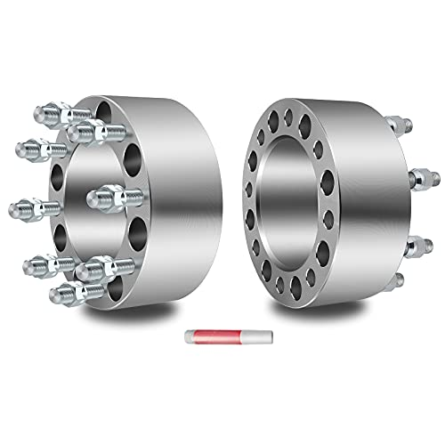 ECCPP 3 inch 75mm 8 Lug Wheel Spacers Adapters 8x6.5 to 8x6.5 8x165.1mm to...