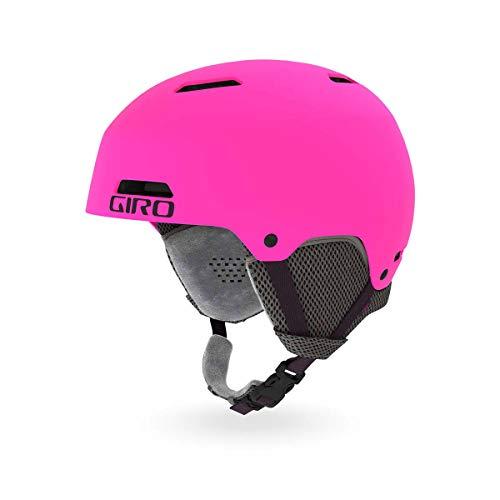 Giro Crue Youth Snow Helmet - Matte Bright Pink - Size XS (48.5-52cm)