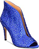 INC International Concepts Womens Raeanne2 Peep Toe Classic, Cobalt, Size 6.5