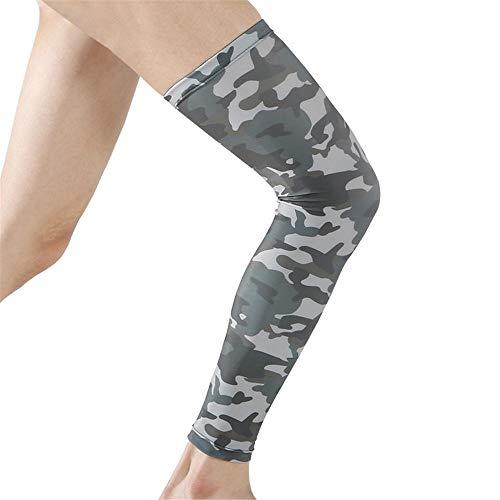 Uitgebreide leggings, Beschermend materiaal, Cushioning, Anti-val, Anti-botsing, Buitensportproducten, Hardlopen, Rijden, Camouflage, Elastische kalfbescherming XL