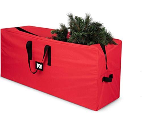 GIAOGIAO Weihnachtsgeschenkaufbewahrungstasche, Oxford-Tuch Einfache große Kapazität, Reißverschluss und Kartensteckplatz