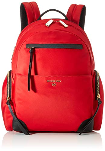 MICHAEL Michael Kors Prescott Large Backpack Bright Red Multi One Size