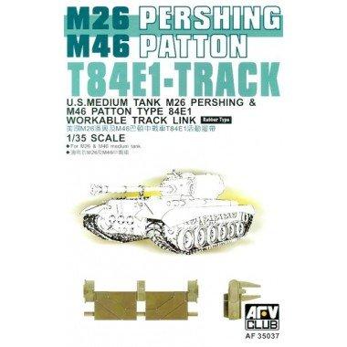 Unbekannt AFV-Club 35037 T-84E1 Pershing Tracks, Véhicules