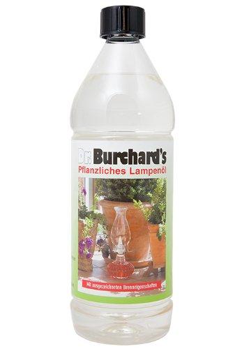 Bio-Lampenöl von Dr. Burchard - OHNE ERDÖL - 1.000 ml - VERSANDKOSTENFREI
