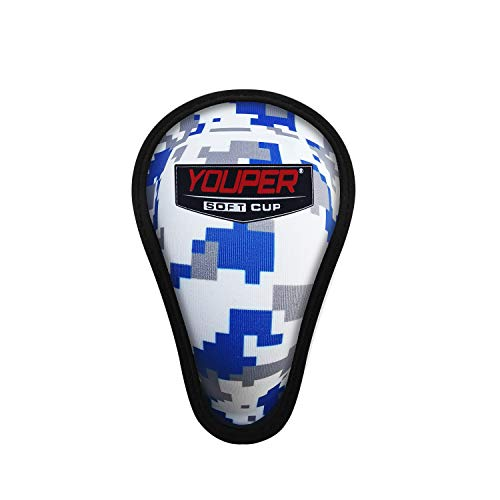 Youper Boys Youth Soft Foam Protective Athletic Cup (Ages 7-12), Kid...