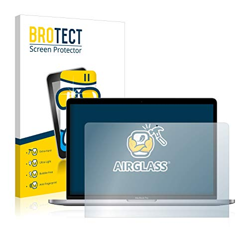 BROTECT Protector Pantalla Cristal Compatible con Apple MacBook Pro M1 13