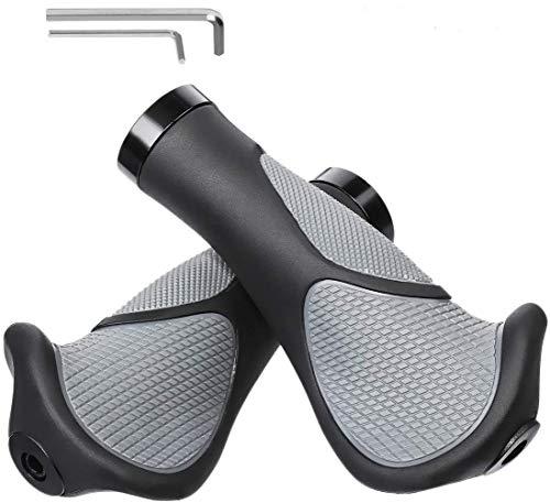 OUTERDO Fahrradgriffe, Ergonomische Griffe für jedes Fahrrad, Speziell geformte Lenkergriffe für perfekte Griffsicherheit, wasserdichte rutschfeste Fahrradgriffe