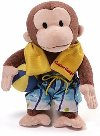 GUND Trust High order Curious George Swim Trunks Monkey Plush 12