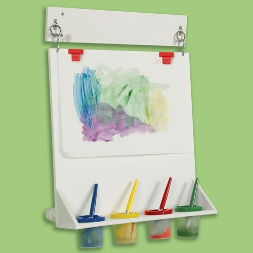 Wall Mounted Paint Easel Children's Factory Space Saver