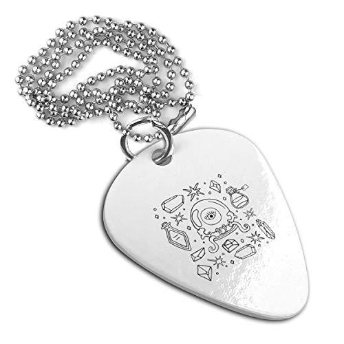 Wiccan Symbols Unique Guitar Pick Necklace Pendant Dog Tag Pet Card Keychain