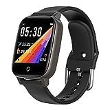 DUTUI Sports Watch, Multi-Sports Mode Calorie Consumption Watch Waterproof Bluetooth Connected Watch, Black