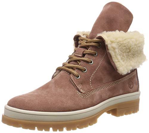 Tamaris Damen 26254-21 Combat Boots, Pink (Old Rose 517), 37 EU