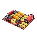 Baoblaze 3 Vías 600W Divisor de Frecuencia Filtro de Audio Cruce de Altavoz Repuestos, 250x164x30...