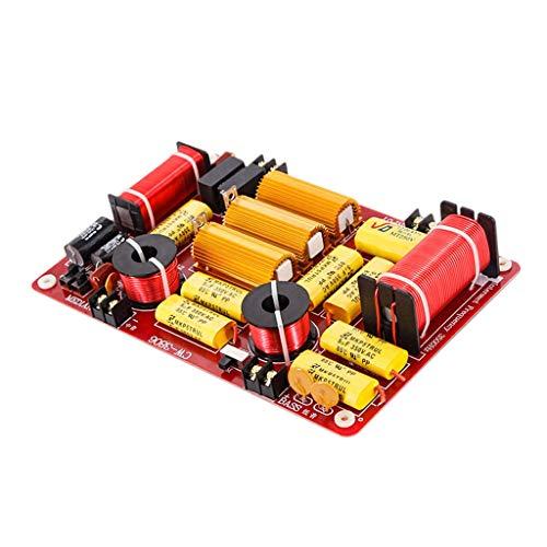 Baoblaze 3 Vías 600W Divisor Frecuencia Filtro Audio