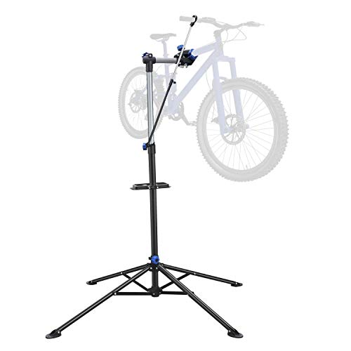 Yaheetech Fahrradmontageständer Montageständer Reparaturständer für Fahrräder mit Stativ 360 Grad, höhenverstellbar