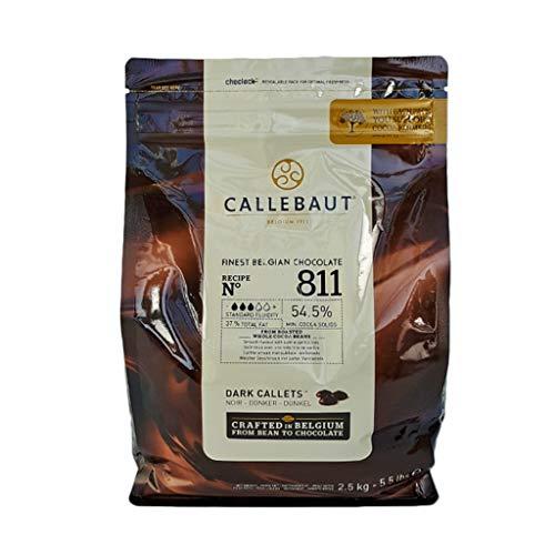 Cioccolato fondente di copertura 54,5% (2.5 kg)