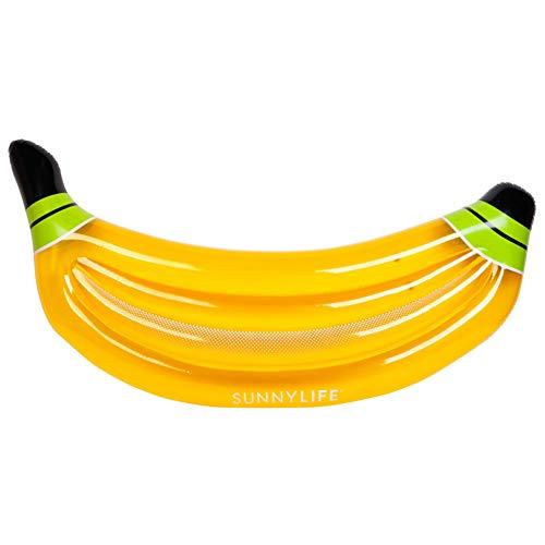 GAOHONGMEI Banana Inflable Fila Flotante Flotador de Piscina Cama Flotante de Agua...