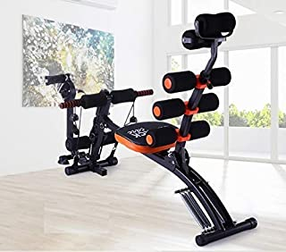 Meneflix 20 Different Mode for Exercise and Fitness Six Pack Abs Exerciser Machine for Exercise and Fitness Without Cycle ...