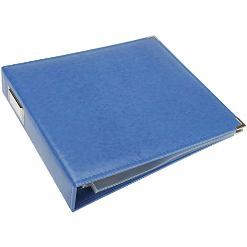 """We R Memory Keepers 0633356609148 Classic Album Album & Sleeve-12 x 12-Ring-Country Blue, 12"""" x 12"""""""