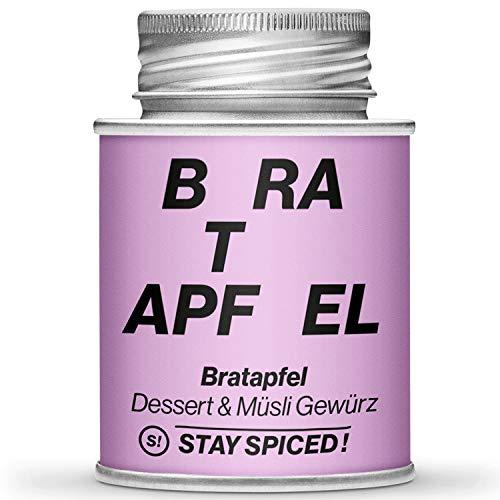 STAY SPICED! Bratapfel Gewürz I Sugar & Spice I Für Kompott, Marmeladen, Röster und Süße Strudel I 170 ml Streudose I Roland Trettl