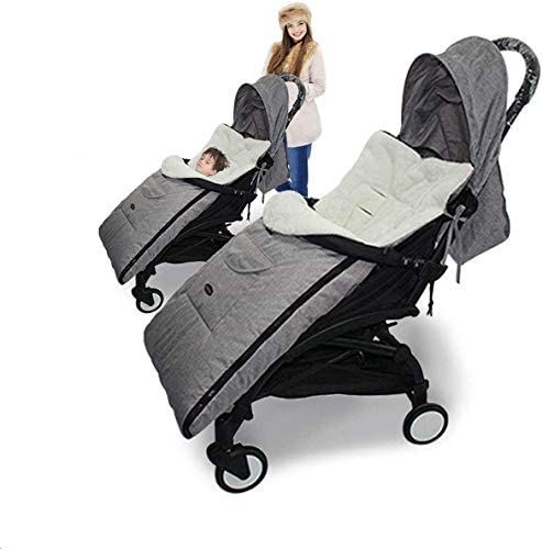 Weallbuy Baby Sleeping Bag Bunting Bag Infant Stroller Sleeping Bag Warm Footmuff Sack Anti product image