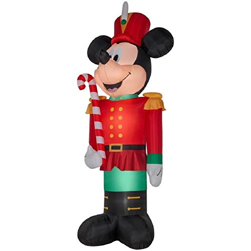 Toy Soldier Inflatable Mickey Mouse Christmas Decorations